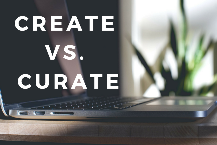 Create or Curate?