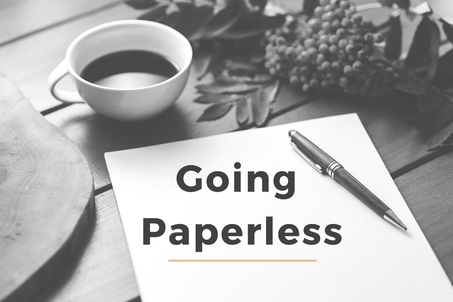 How to Go Paperless in Your Business