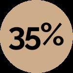 35percent